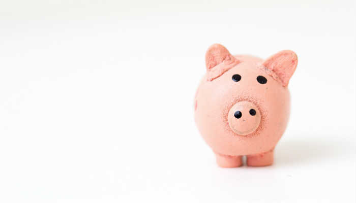 A piggy bank by Fabian Blank on Unsplash.com.