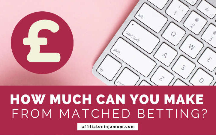 "A keyboard and pound sign, overlaid with text reading 'How much can you make from matched betting?' Image"" Kayla Butler via Ivorymix.com."