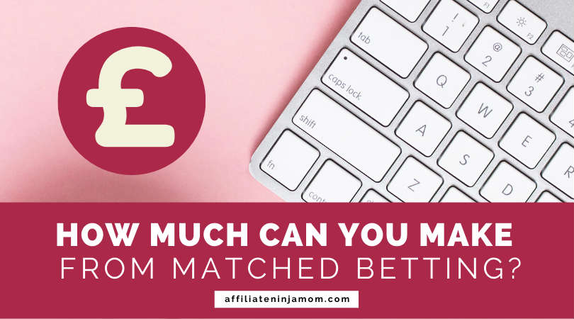"""A keyboard and pound sign, overlaid with text reading 'How much can you make from matched betting?' Image"""" Kayla Butler via Ivorymix.com."""